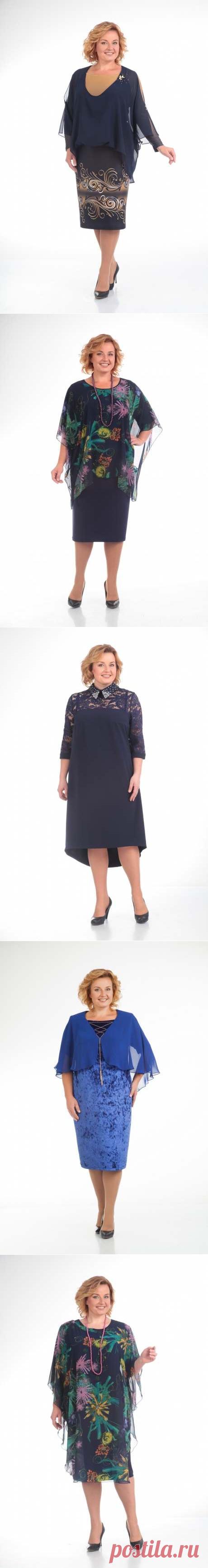 Поиск на Постиле: нарядные платья для полных