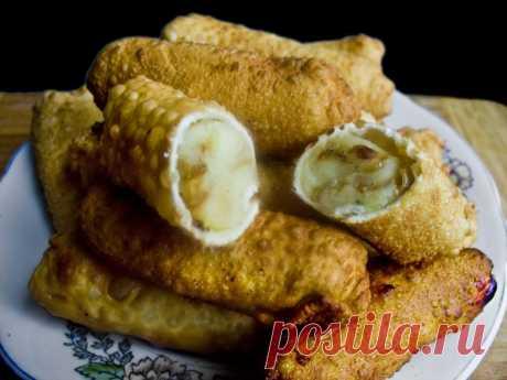 Колбаски с картофельным пюре