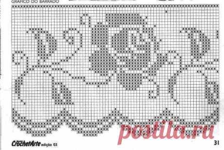 Филейное вязание(много картинок)