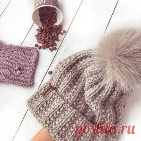 Описание теплой шапочки спицами, Вязание для женщин