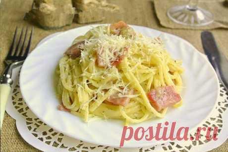 Как приготовить классическая паста карбонара. - рецепт, ингредиенты и фотографии