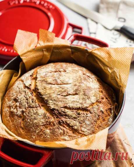 Хлеб - быстро и без лишних усилий🍞