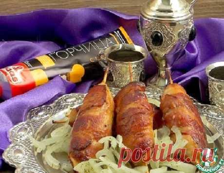 Куриные кебабы в горчичной глазури – кулинарный рецепт