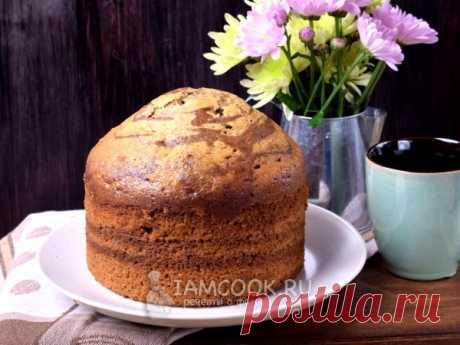 Пирог «Зебра» на сыворотке — рецепт с фото Ароматный и пышный пирог «Зебра» на сыворотке, с добавлением ароматных пряностей.