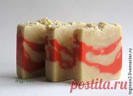 Мыло медовое с перцем - натуральное мыло,мыло с нуля,мыло ручной работы