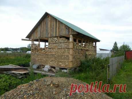 Дом из дров и глины своими руками. Тепло и не дорого. | Рукастый ✔ | Яндекс Дзен