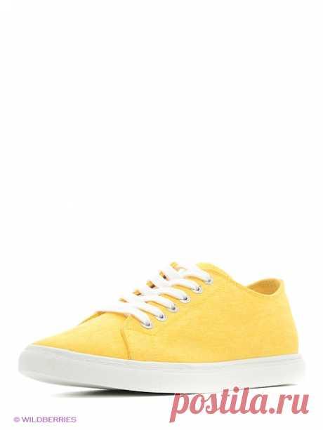 Кеды KEDDO. Цвет желтый.