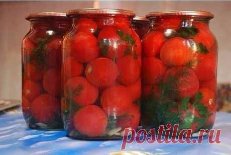 Маринованные помидоры «Людмила»