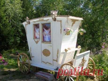 По-настоящему царский туалет на даче