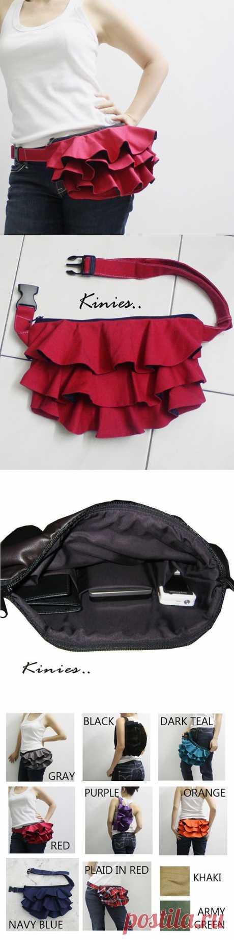 Сумочка-пояс / Аксессуары (не украшения) / Модный сайт о стильной переделке одежды и интерьера