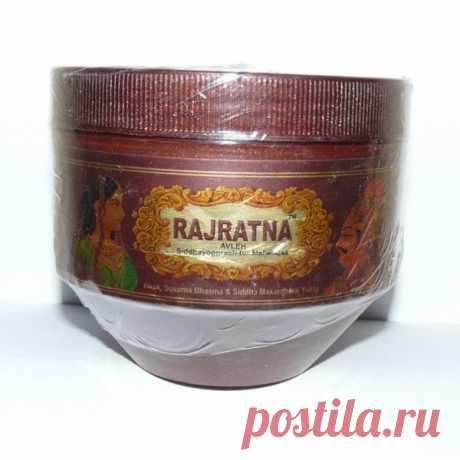 Купить Чаванпраш Раджратна (Rajratna Siddhayogprash for Maharajas) 500 с доставкой по всей России в интернет-магазине Аюрлавка.рф