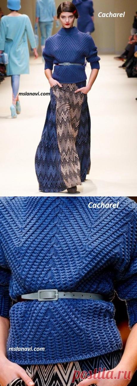 Вязаные платье и пуловеры | Вяжем с Лана Ви