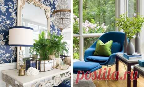 Синий с зеленым: 40 примеров цветового сочетания – Вдохновение