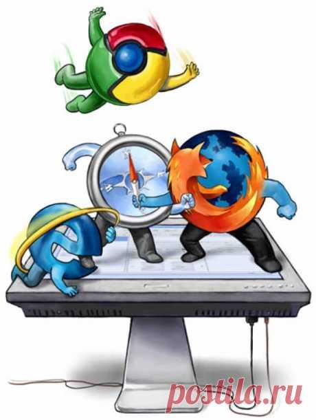 Компьютер кому за 50. Что значит сделать браузер по умолчанию?