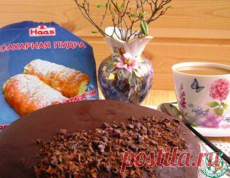 Торт «Прага» по-домашнему – кулинарный рецепт