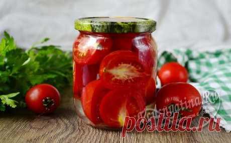 Помидоры кусочками на зиму как свежие, рецепт с фото Свежие помидоры с собственного огорода зимой, реально? да, реально. По рецепту с фото вы сможете сделать помидоры кусочками на зиму, как свежие