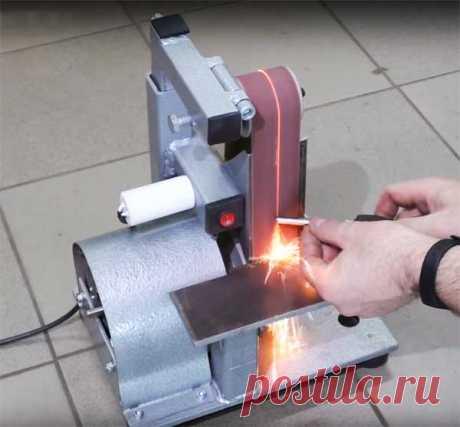 Гриндер из двигателя от стиральной машины: фото пошагового изготовления