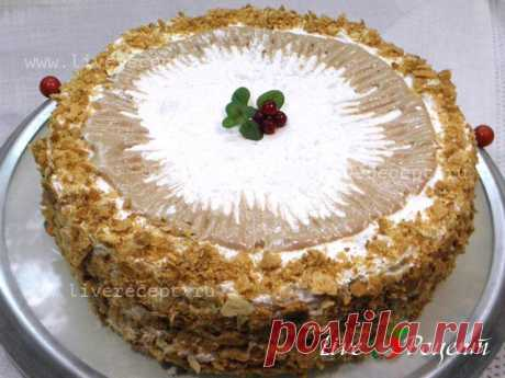 The Kremlin cake — it well very tasty cake the recipe of which is not deserved is forgotten