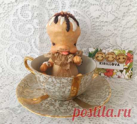Cupcake Keksik by Elena Kirillova - Bear Pile