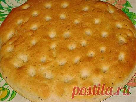 (+1) тема - Итальянский хлеб-фокачча | Любимые рецепты
