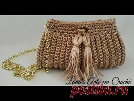TUTORIAL: Bolsa Clutch (Crochê)