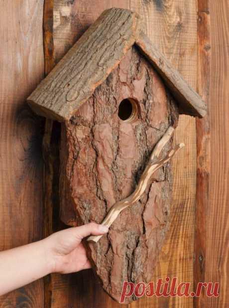 Поделки из дерева для сада и дачи своими руками: как делать, фото оригинальных идей