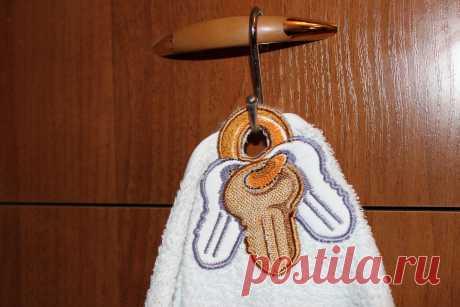"""вешалка для полотенца """"Ключики"""""""