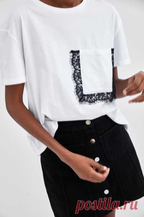 Карман  с кружевной каймой Модная одежда и дизайн интерьера своими руками