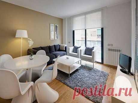 Свободная планировка однокомнатной квартиры — Роскошь и уют