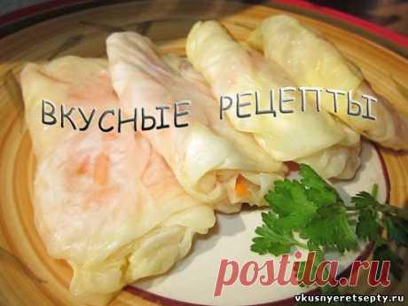 Квашеные голубцы - рецепт с фото | Вкусные рецепты