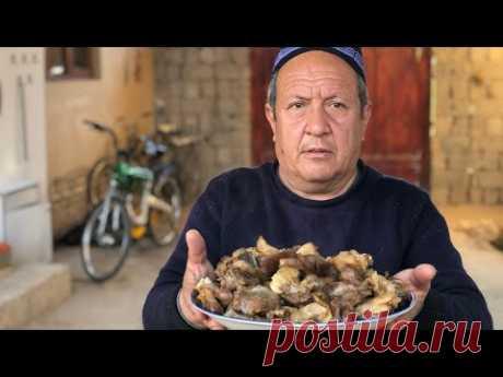Секреты сочной и нежной баранины от узбекских поваров!Чупонча.Жаренная баранина в казане.Узбекистан.