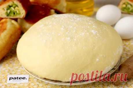 Дрожжевое тесто на кефире для жареных пирожков - Vkusnosite.ru