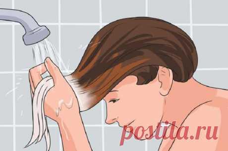 Эффект омбре на волосах можно создать дома! Совершенно безопасно для волос.