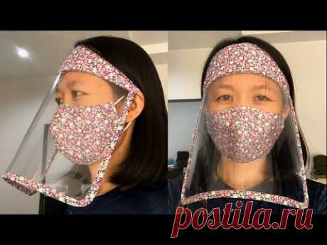 DIY Face Shield   วิธีทำหน้ากาก face shield จากแผ่นใส