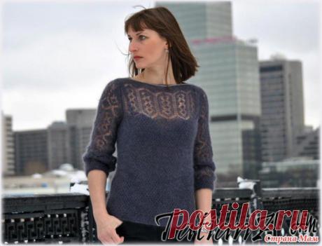"Pullover spokes \""Shetland patterns\"". Svetlana Zayets's MK"