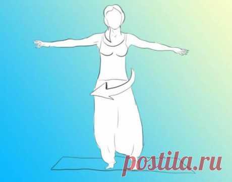 Упражнение ЮЛА: раскрутите свои проблемы тела и психики! — Копилочка полезных советов