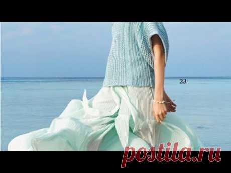 Яркие вязаные модели на лето - Bright knitted patterns for the summer