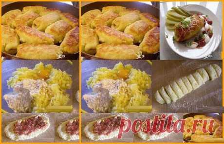 Шустрый повар.: Картофельные рулетики