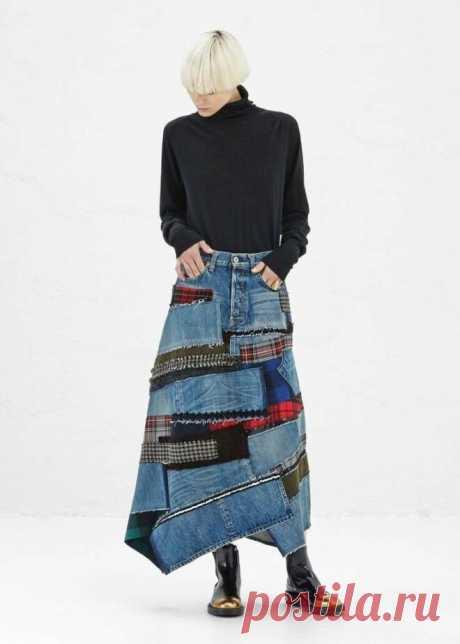 Новая креативная жизнь из старых джинсов