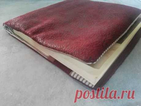 Handmade book protector Made in France By Perlime