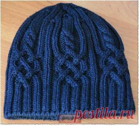 Важная деталь для вязания шапки спицами Недавно встал вопрос тоже насчет перегиба, много способов перепробовала, остановилась на одном - мне понравилось. Придумала сама, но возможно так и еще кто-то вяжет.