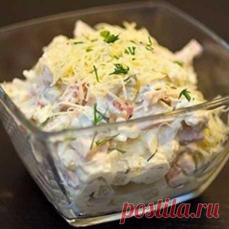 Вкусный и хрустящий салат Русская красавица — гости в восторге