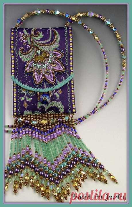 Необычные украшения из бисера – герданы (мастер-класс)   Рукоделие