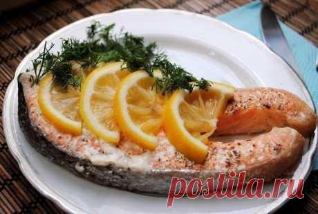 лосось, запеченный в фольге