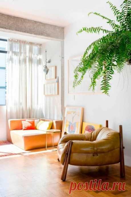Выделение открытых бетонных и кирпичных стен при ремонте квартиры.