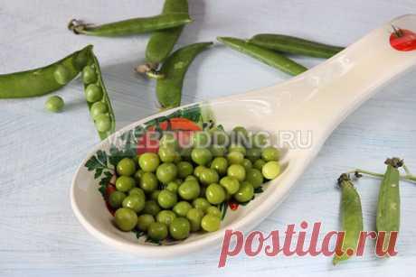 Консервированный зеленый горошек без стерилизации