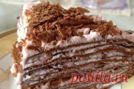 Протеиновый блинный торт с творожной начинкой, рецепт — Вкусо.ру