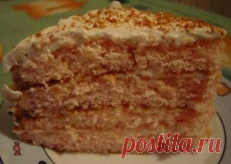 Нежный-нежный кисельный тортик