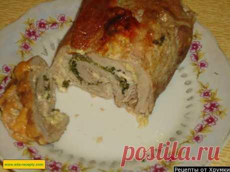 Мясной рулет с сыром рецепт с фото пошагово - 1000.menu