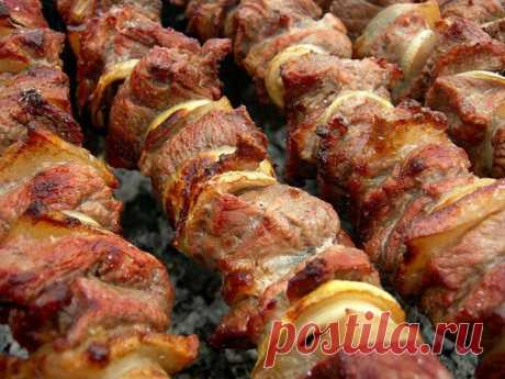 Фантастически мягкое мясо на шашлыки за полчаса!!! - Простые рецепты Овкусе.ру